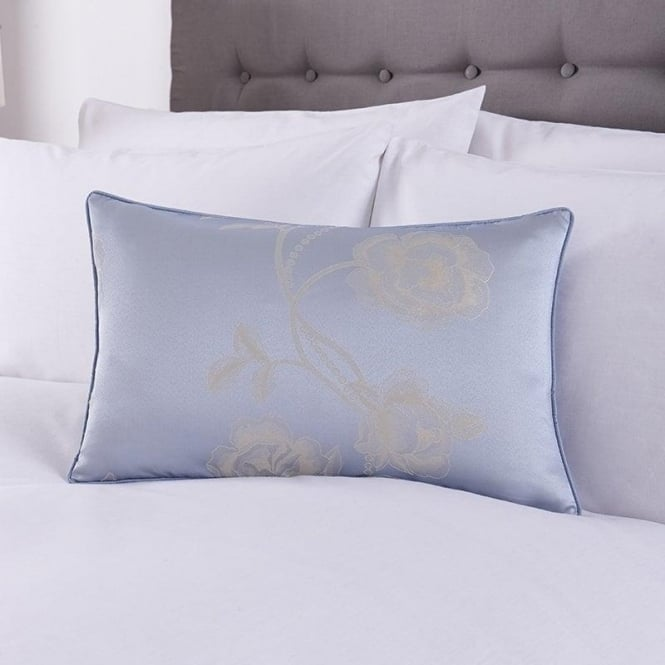 Charlotte Thomas Antonia Cushion Cover in Duck Egg Blue