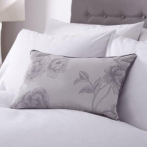 Antonia Cushion Cover in Light Purple & Grey
