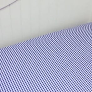 Boys' Gingham Fitted Sheet
