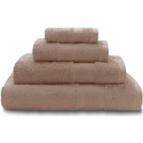100% Cotton Plain Towels in Beige