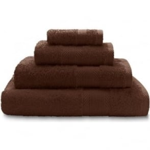 100% Cotton Plain Towels in Brown