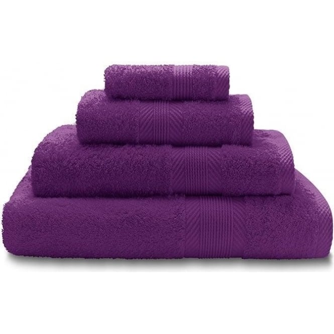 Catherine Lansfield Bath Towels in Purple Bathroom Linen  : catherine lansfield 100 cotton plain towels in purple p1689 7783medium from welovelinen.com size 520 x 520 jpeg 16kB