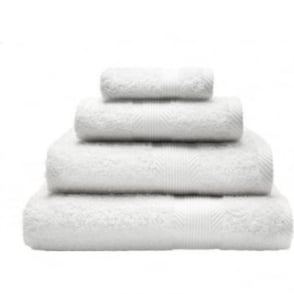 100% Cotton Plain Towels in White