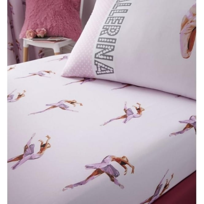 Catherine Lansfield Ballerina Fitted Sheet