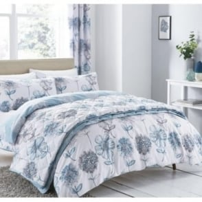 Banbury Floral Duvet Set in Blue