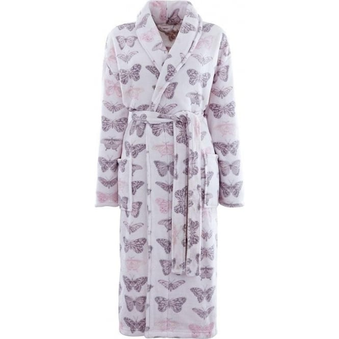 Catherine Lansfield Butterflies Bathrobe