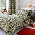 Catherine Lansfield Camouflage Fitted Sheet