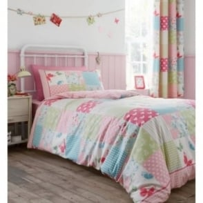 Canterbury Patchwork Eyelet Curtains