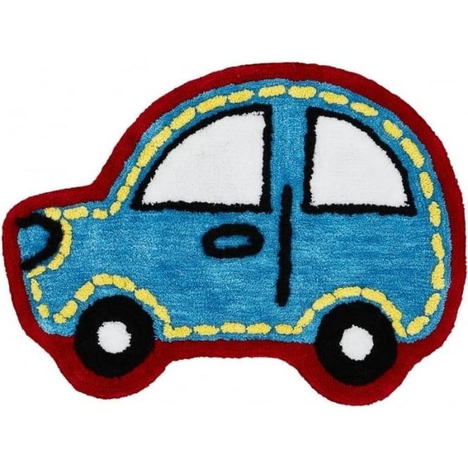 Catherine Lansfield Car Shaped Rug