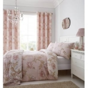 Chrysanthemum Eyelet Curtains
