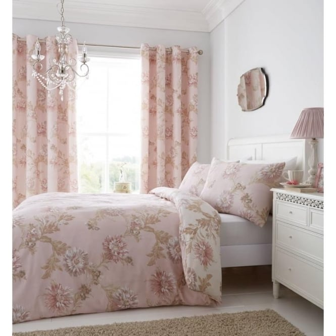 Catherine Lansfield Chrysantheum Duvet Set