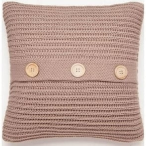 Chunky Knit Cushion Cover in Beige