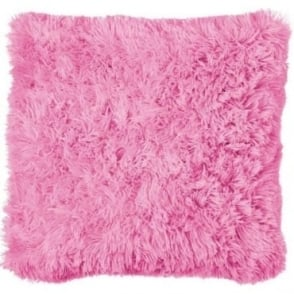 Cuddly Cushion Cover in Light Pink