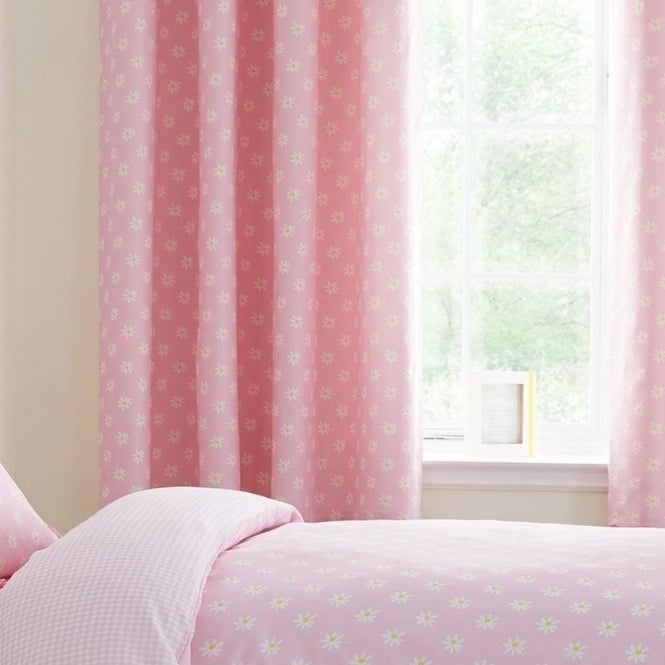 Catherine Lansfield Daisy Dreamer Eyelet Curtains