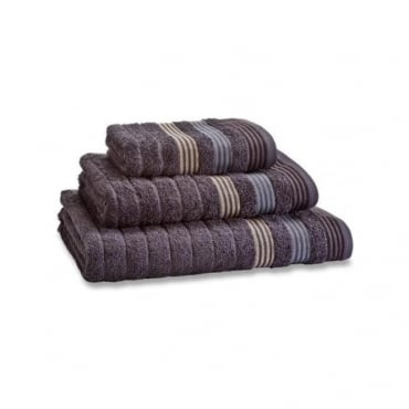 Garrat Stripe Towels in Grey