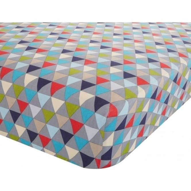 Catherine Lansfield Geo Fitted Sheet