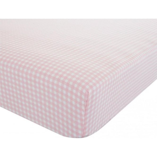 Catherine Lansfield Gingham Fitted Sheet