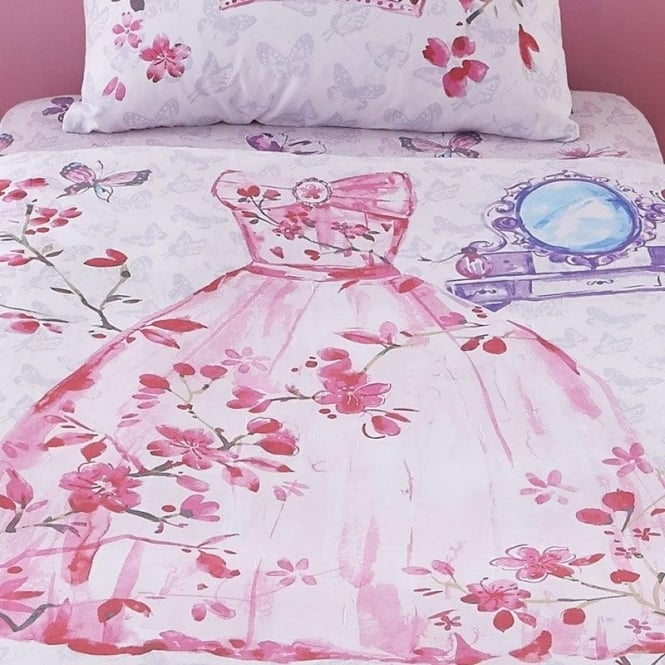Catherine Lansfield Glamour Princess Fitted Sheet