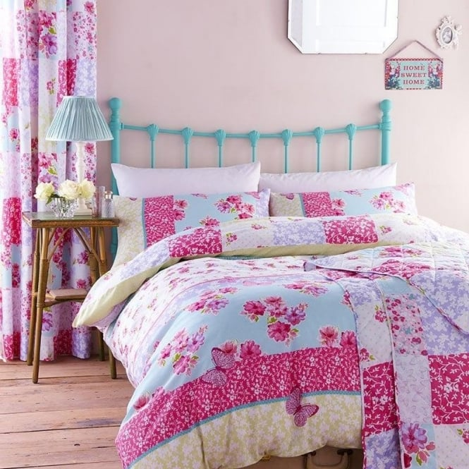 Catherine Lansfield Gypsy Patchwork Duvet Set