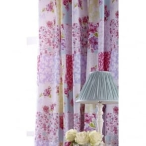 Gypsy Patchwork Pencil Pleat Curtains