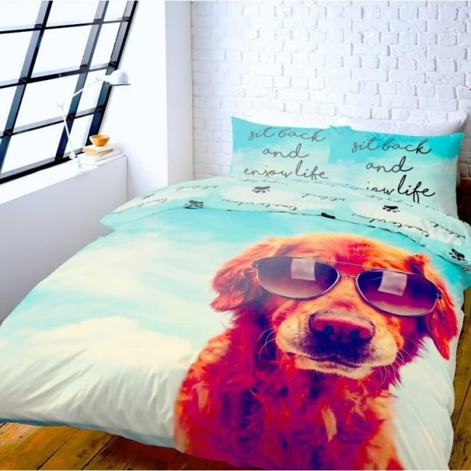 Catherine Lansfield It's A Dog's Life Duvet Set