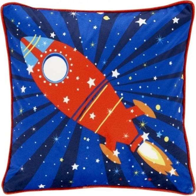 Catherine Lansfield Outer Space Cushion Cover