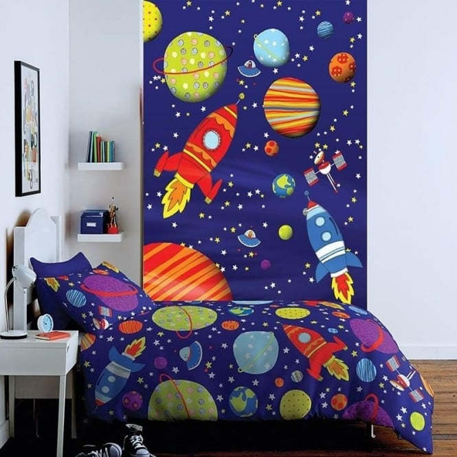 Catherine Lansfield Outer Space Wall Art