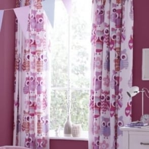 Owl Tab Top Curtains