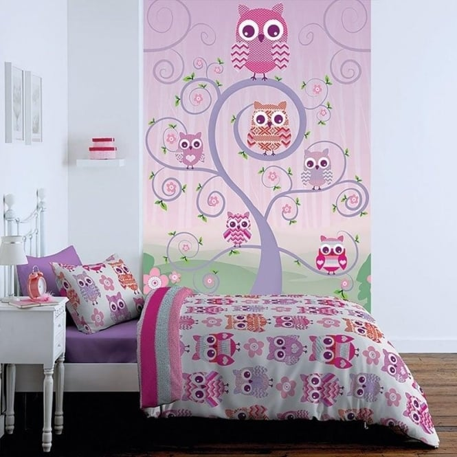 Catherine Lansfield Owl Wall Art
