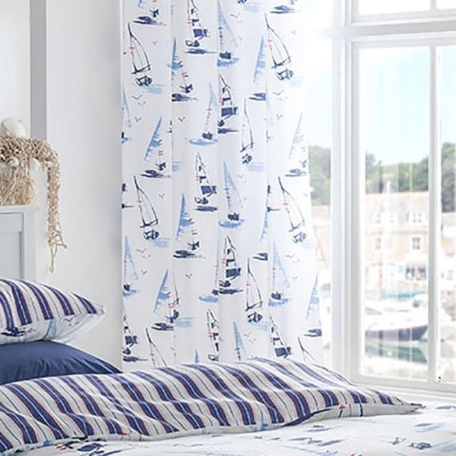 Padstow Nautical Eyelet Curtains