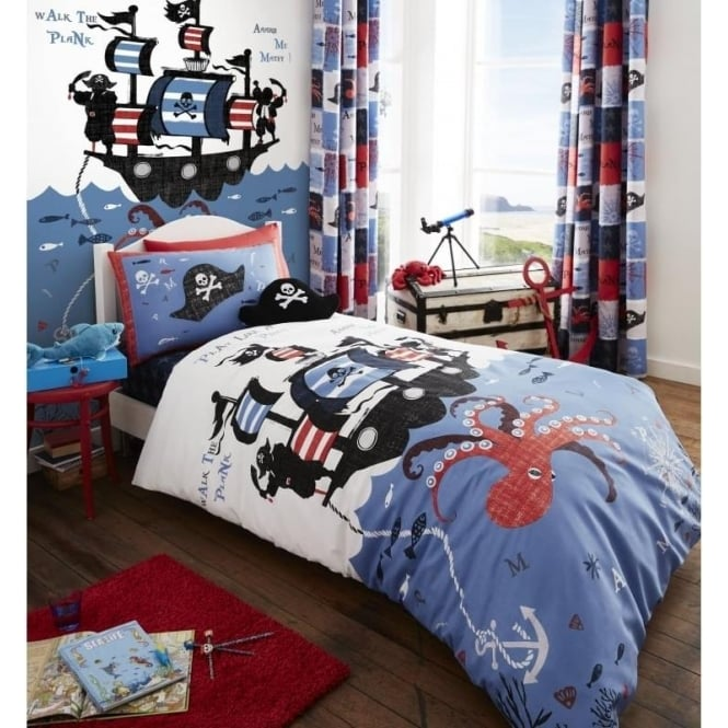 Catherine Lansfield Pirate Ship Wall Art