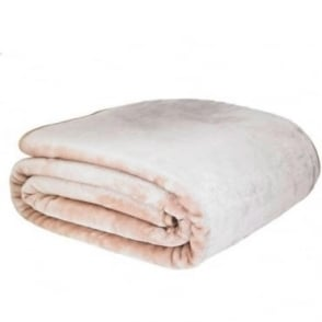 Raschel Throw in Beige
