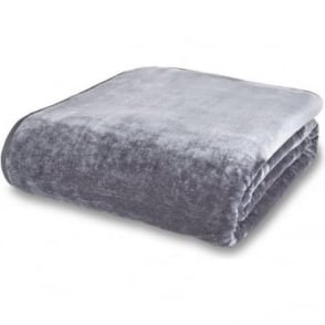 Raschel Throw in Grey