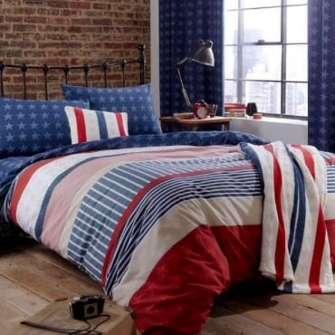 Stars and Stripes Reversible Duvet Set