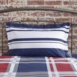 1 only Carson Oxford Pillowcase Polycotton 144 Thread Count