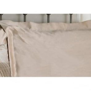 1 only Caterina Oxford Pillowcase in Gold Jacquard/ Polycotton
