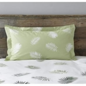 1 only Fern Oxford Pillowcase Polycotton 144 Thread Count