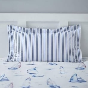 1 only Salcombe Oxford Pillowcase Polycotton 144 Thread Count
