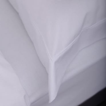 1 only Sestina Oxford Pillowcase - 100% Cotton Percale 200 Thread Count