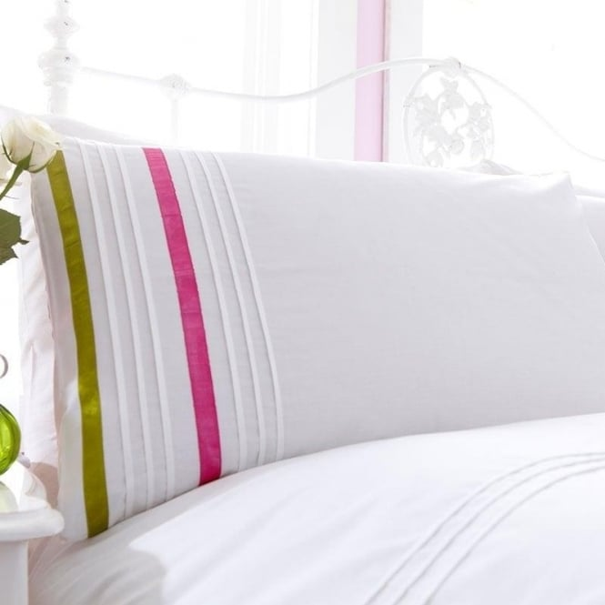 Charlotte Thomas 1 Pair Arabella Housewife Pillowcases Percale Polycotton 180 Thread Count
