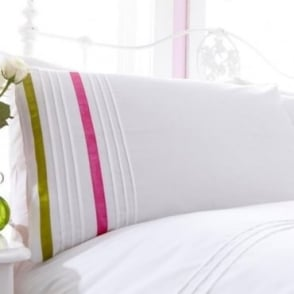 1 Pair Arabella Housewife Pillowcases Percale Polycotton 180 Thread Count