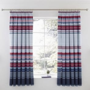 1 Pair Ashton Pencil Pleat Curtains Polycotton 144 Thread Count