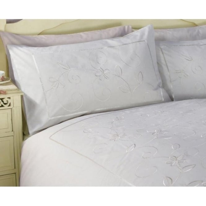 Charlotte Thomas 1 Pair Housewife Pillowcases Joanna - Percale Polycotton 180 Thread Count