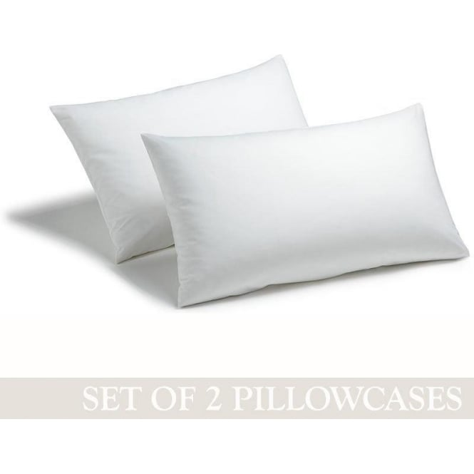 Charlotte Thomas 1 Pair Housewife Pillowcases - Polycotton 144 Thread Count