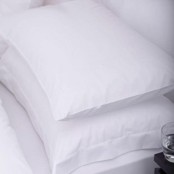 Charlotte Thomas 1 Pair Sestina Housewife Pillowcases - 100% cotton Percale 200 Thread Count