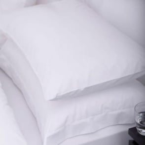 1 Pair Sestina Housewife Pillowcases - 100% cotton Percale 200 Thread Count