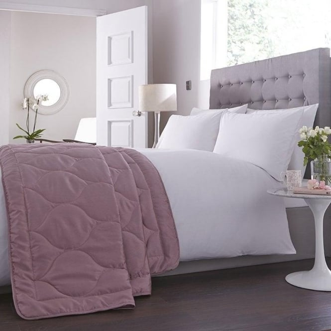 Charlotte Thomas Anastasia Bed Throw - Dark Pink
