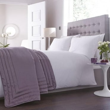 Antonia Bed Throw - Light Purple