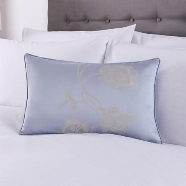 Antonia Cushion Cover in Duck Egg Blue