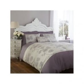 Antonia Duvet Cover only - Light Purple & Grey